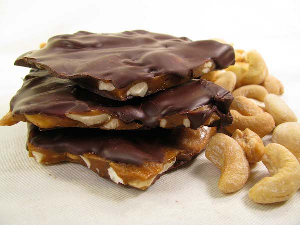 Vegan Cashew Brittle