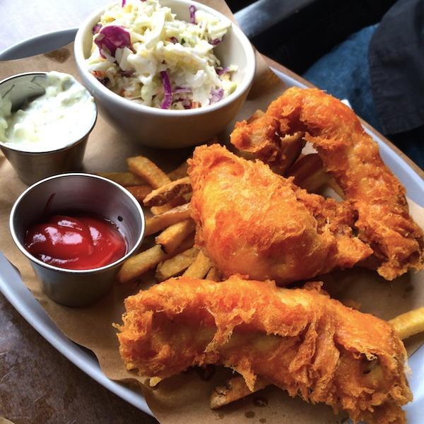 Fish & Chips at Culinary Dropout