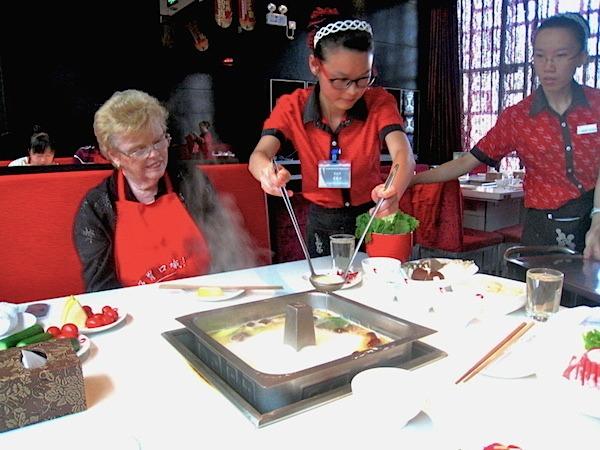 Asian Food Hot Pot