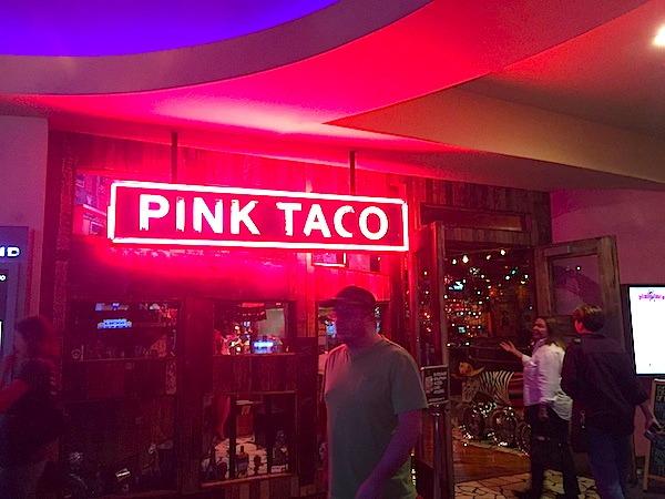 Pink Taco With Zebra