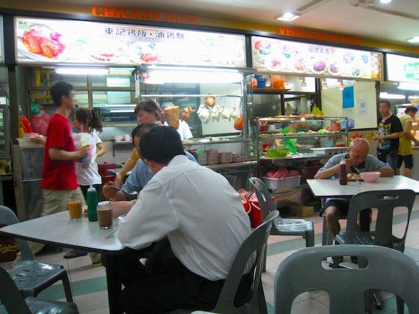 Singapore Hawker Stalls
