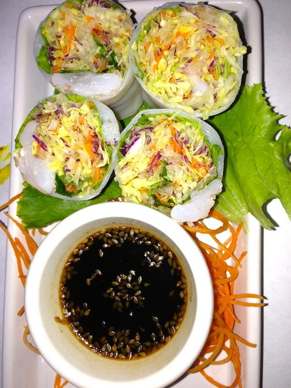 Asian Food Spring Rolls