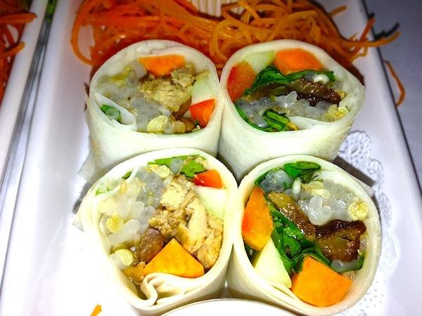 Asian Food Thai Rolls