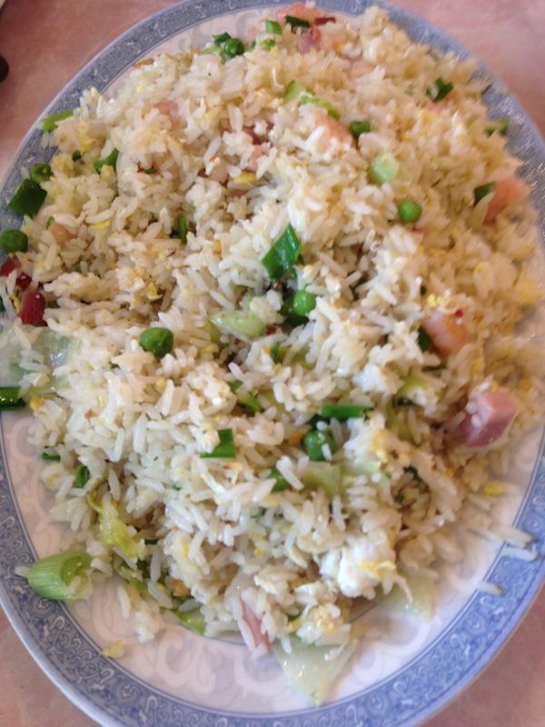 Asian Food Chow rice