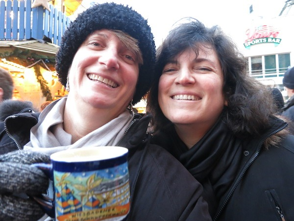Food Travelists at the Frankfurt Christkindlmarket