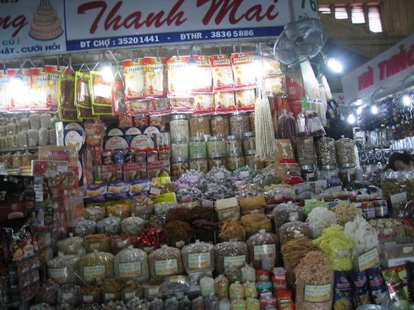 Cho Ben Thanh Market in Ho Chi Minh City, Viet Nam