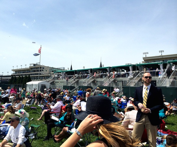 Catch all the Kentucky Derby action in the infield.