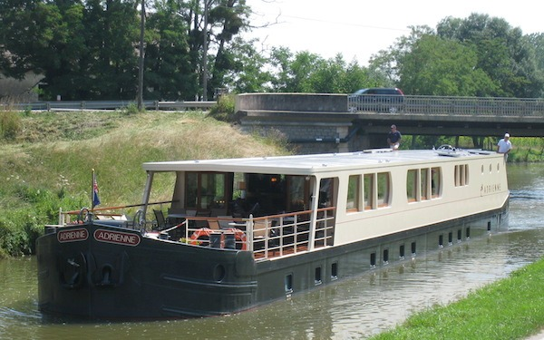 Adrienne France Barge Cruise