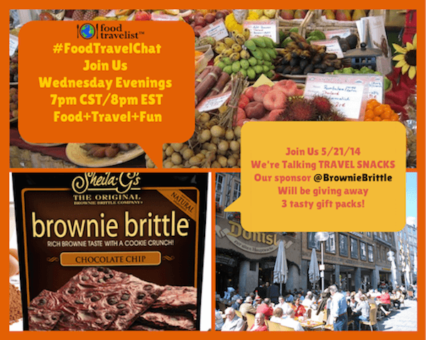 Travel Snacks with Brownie Brittle