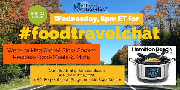 Global Slow Cooker with Hamilton Beach