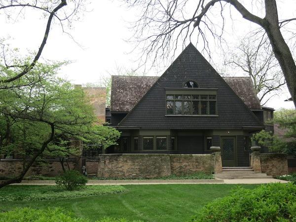 Frank Lloyd Write Home & Studio in Oak Park, IL