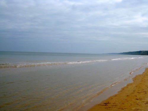 The shores of Normandy Beach