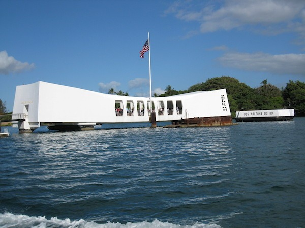 Pearl Harbor USS Arizona Memorial. Memorial Day 2020