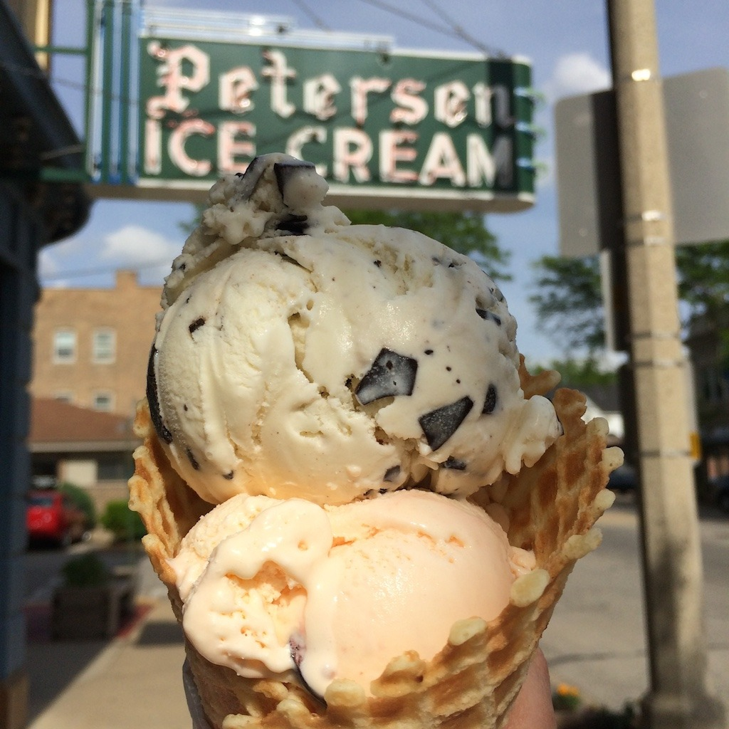 Petersen's Ice Cream in Oak Park