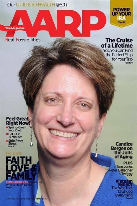 Me on the cover of AARP? Could happen
