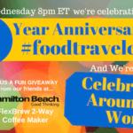 Happy Anniversary FoodTravelChat
