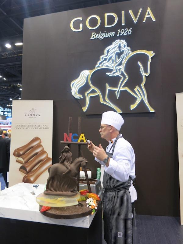 Godiva Chocolate Chef Chocolatier Theirry Muret