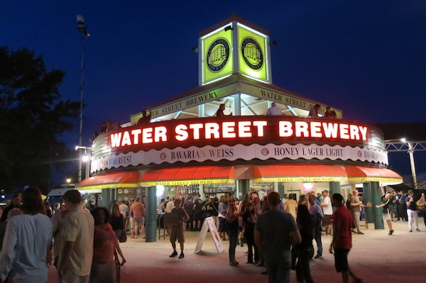 Lots of food and drink choices at Summerfest