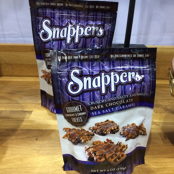 Snappers Dark Chocolate Sea Salt Caramel