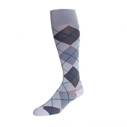 Rejuva Argyle Compression Sock