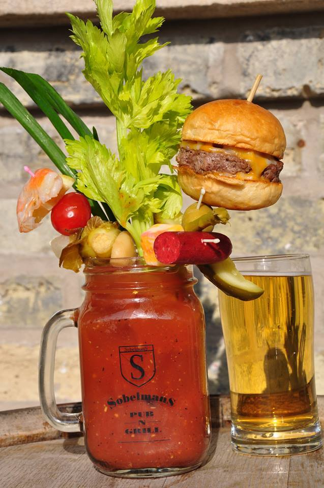 Sobelmans Cheeseburger Bloody Mary