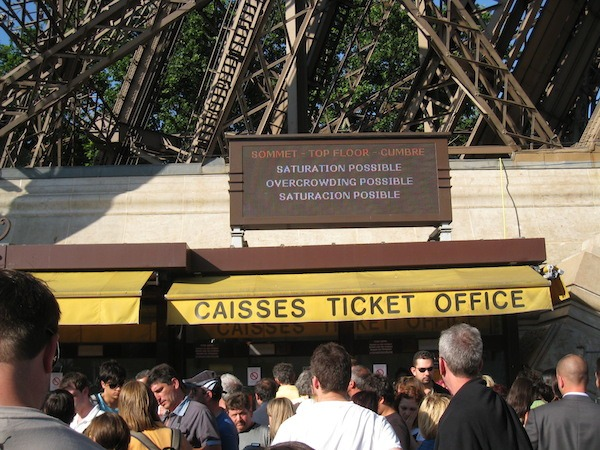 Eiffel-Tower-Wait-Line-Food-Travelist-10-Things-You-Must-Do-In-Paris