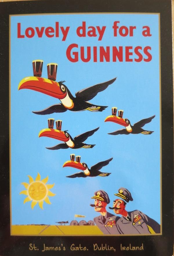 Guinness Postcard