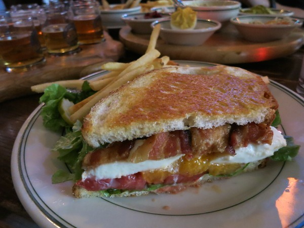 Heirloom Tomato BLT at The Old Fashioned in Madison Wi Food Travelist