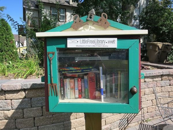 Little Free Library was created in Madison Wisconsin Food Travelist