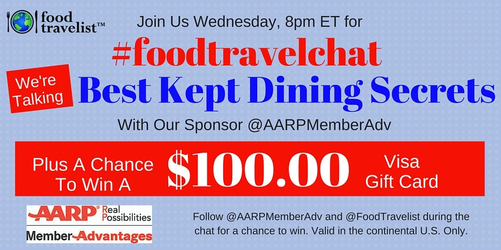 FTC AARP Best Kept Dining Secrets Graphics
