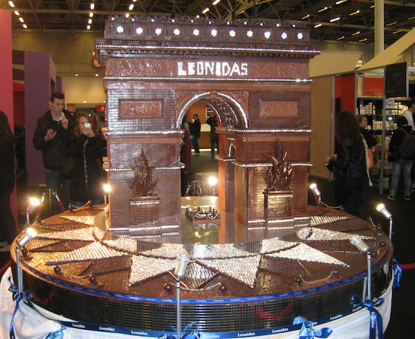Salon du Chocolate Paris Famous Chocolate