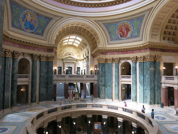 Capital Building in Madison Wisconsin Food Travelist