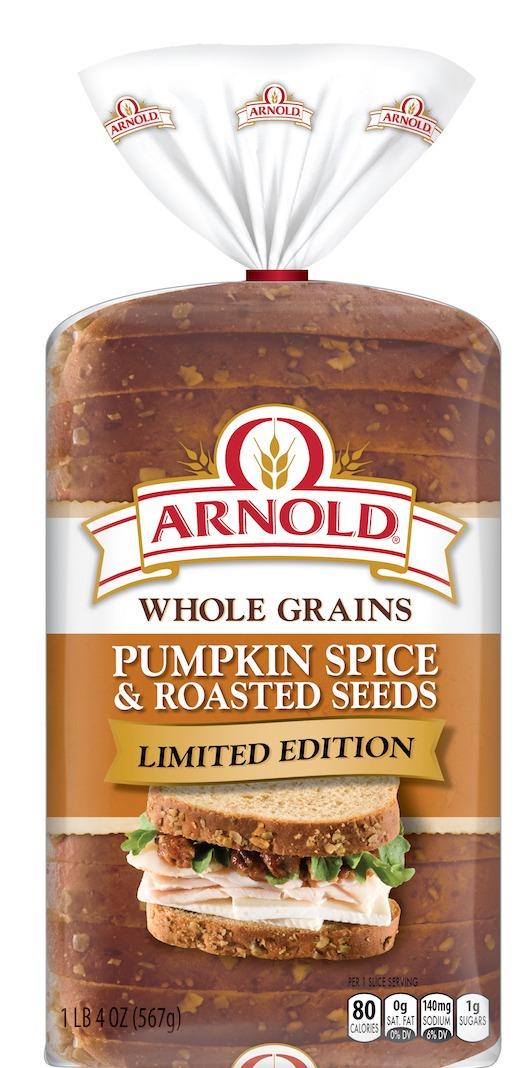 Arnold Pumpkin Spice Bread