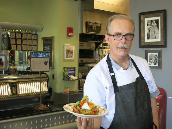 Chef Larry Hanes Eggshell Bistro Carmel Indiana