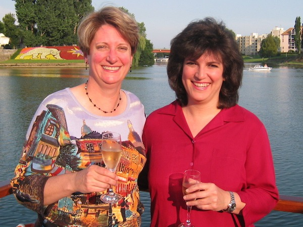 Sue Reddel and Diana Laskaris Co Founders of Food Travelist TBEX 2015 North America