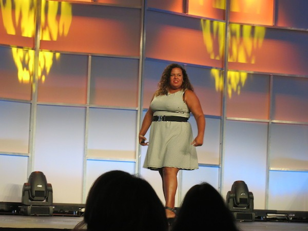 Carol Cain Empowering the audience at TBEX