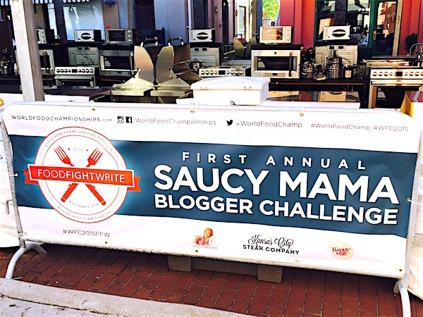 Saucy Mama Blogger Challenge My First Ever Cooking Competition