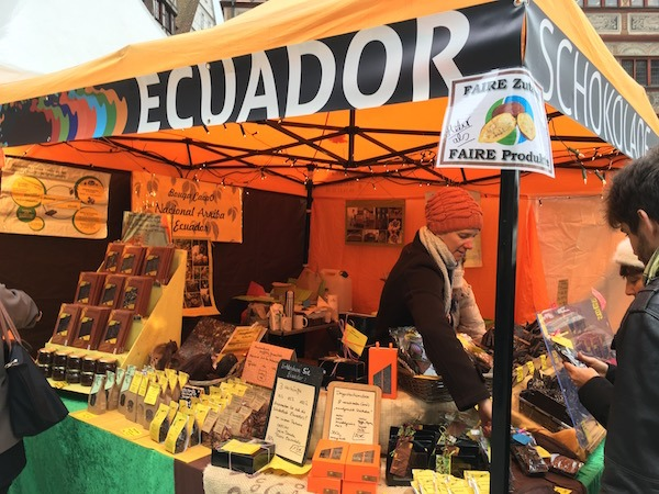 Ecuadorian Chocolate at Tubingen Choco'ART Christmas Market