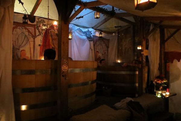 Esslingen Medieval Christmas Market Baths