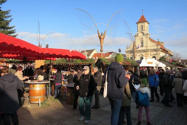 Ludwigsburg Bustling Christmas Market