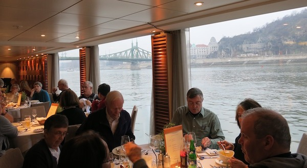Casual dining on a Viking River Cruise Food Travelist