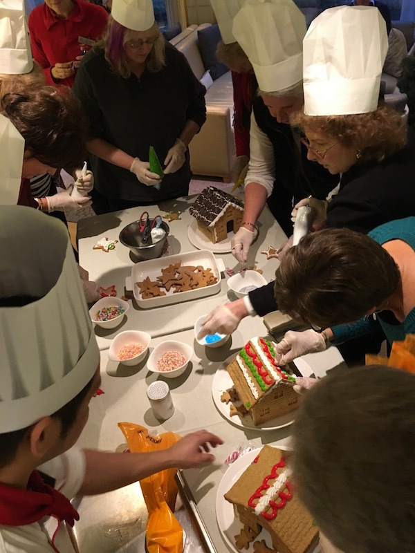 Gingerbread House Decorating on Viking River Cruise Food Travelist