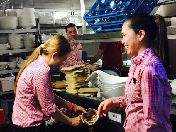 Viking River Cruise Kitchen team