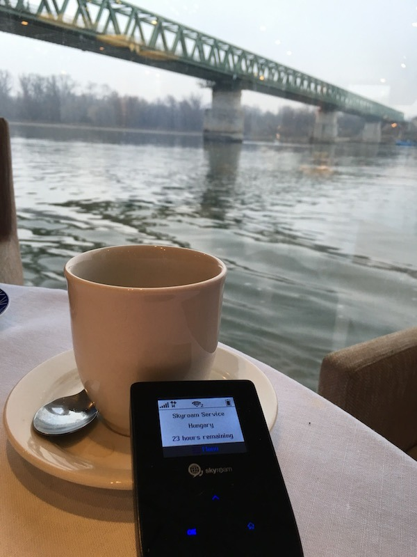 TEP WIreless on the Viking RIver Cruise