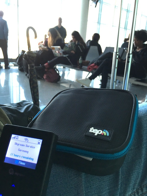TEP Wireless At Zurich Airport