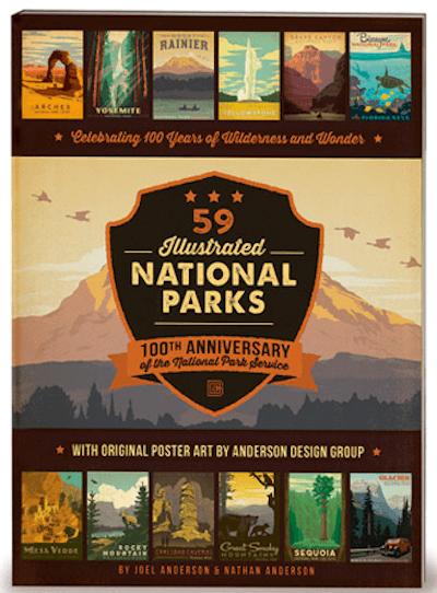 59 Illustrated National Parks