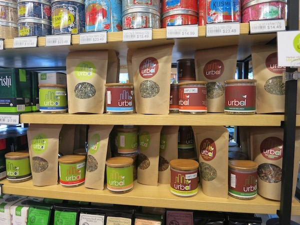 Beans & Barley carries Urbal Teas