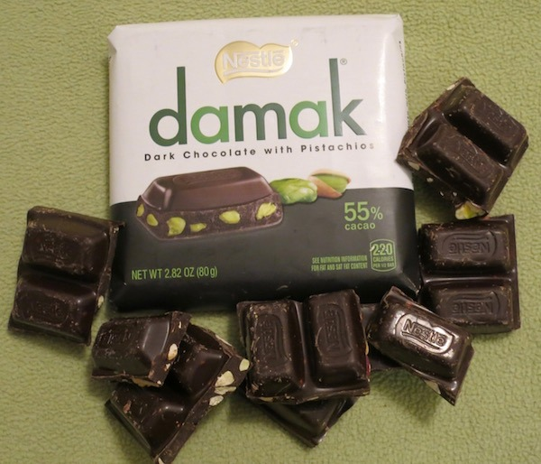 Nestle Damak Dark Chocolate with Pistachios Great Tasting Damak