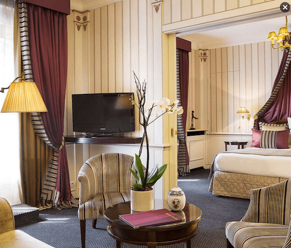 Junior Suite at the Hotel Napoleon Paris