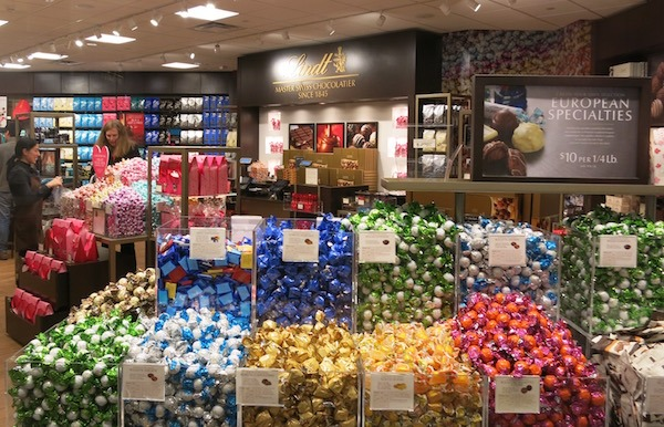 Lindts Candy Rosemont Fashion Outlet Chicago